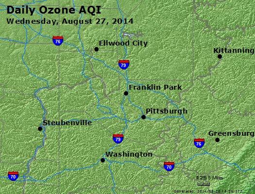 Peak Ozone (8-hour) - http://files.airnowtech.org/airnow/2014/20140827/peak_o3_pittsburgh_pa.jpg
