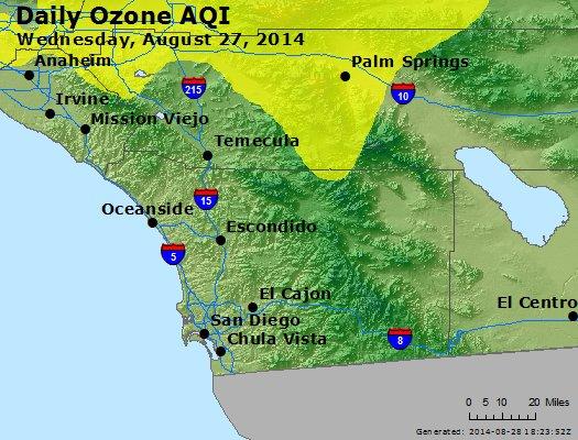 Peak Ozone (8-hour) - http://files.airnowtech.org/airnow/2014/20140827/peak_o3_sandiego_ca.jpg