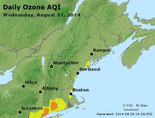 Peak Ozone (8-hour) - http://files.airnowtech.org/airnow/2014/20140827/peak_o3_vt_nh_ma_ct_ri_me.jpg