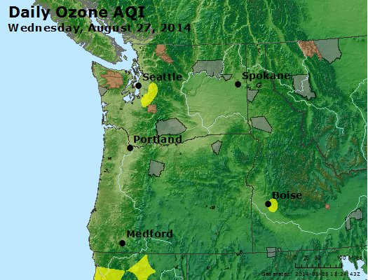 Peak Ozone (8-hour) - http://files.airnowtech.org/airnow/2014/20140827/peak_o3_wa_or.jpg