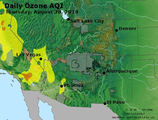 Peak Ozone (8-hour) - http://files.airnowtech.org/airnow/2014/20140828/peak_o3_co_ut_az_nm.jpg