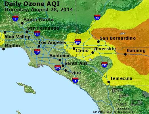 Peak Ozone (8-hour) - http://files.airnowtech.org/airnow/2014/20140828/peak_o3_losangeles_ca.jpg