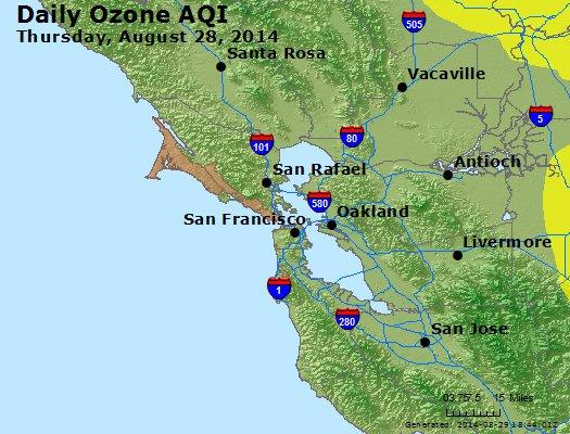 Peak Ozone (8-hour) - http://files.airnowtech.org/airnow/2014/20140828/peak_o3_sanfrancisco_ca.jpg