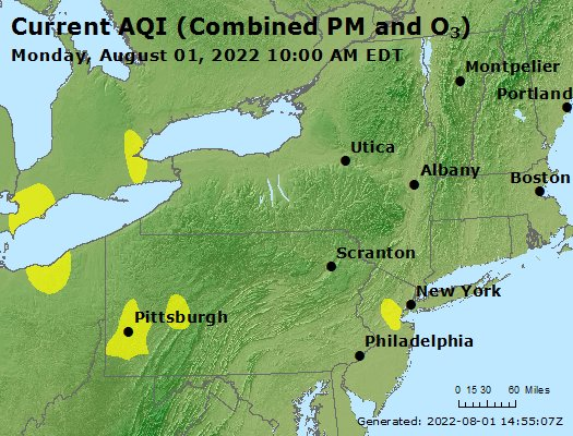 current air quality