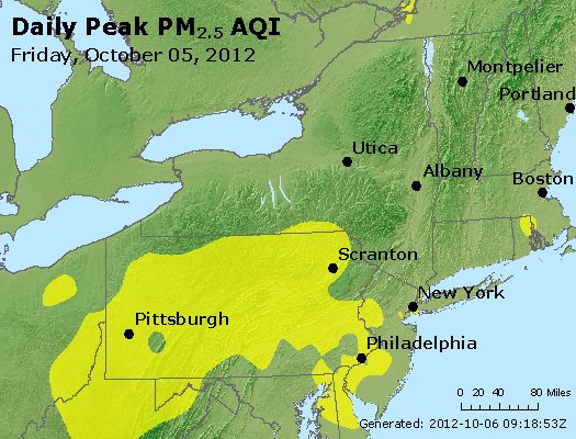 Peak Particles PM<sub>2.5</sub> (24-hour) - https://files.airnowtech.org/airnow/2012/20121005/peak_pm25_ny_pa_nj.jpg