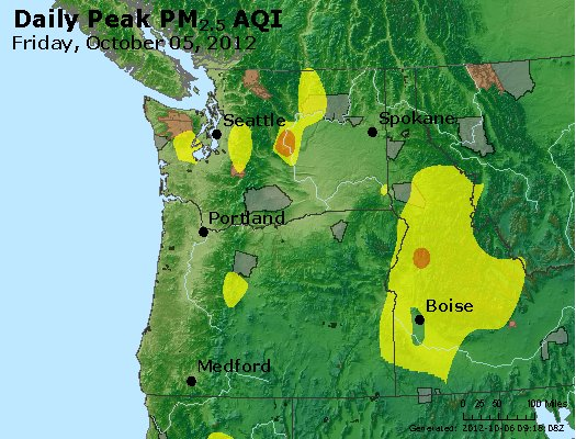Peak Particles PM<sub>2.5</sub> (24-hour) - https://files.airnowtech.org/airnow/2012/20121005/peak_pm25_wa_or.jpg