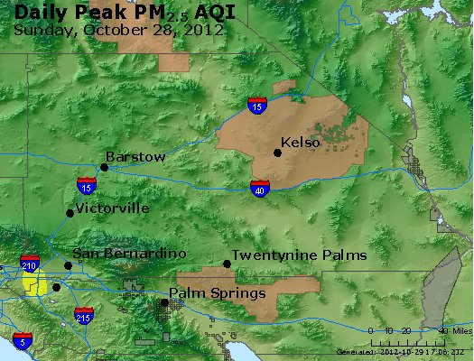 Peak Particles PM<sub>2.5</sub> (24-hour) - https://files.airnowtech.org/airnow/2012/20121028/peak_pm25_sanbernardino_ca.jpg