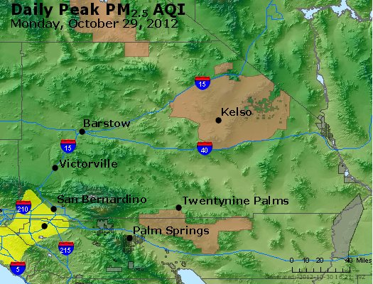 Peak Particles PM<sub>2.5</sub> (24-hour) - https://files.airnowtech.org/airnow/2012/20121029/peak_pm25_sanbernardino_ca.jpg