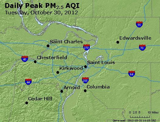 Peak Particles PM2.5 (24-hour) - https://files.airnowtech.org/airnow/2012/20121030/peak_pm25_stlouis_mo.jpg