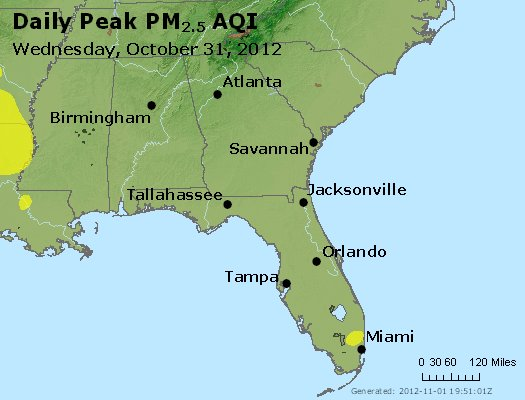 Peak Particles PM2.5 (24-hour) - https://files.airnowtech.org/airnow/2012/20121031/peak_pm25_al_ga_fl.jpg
