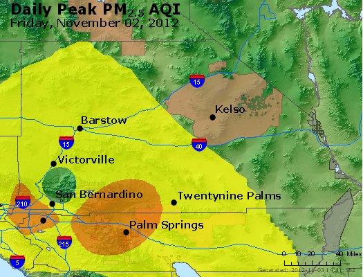 Peak Particles PM<sub>2.5</sub> (24-hour) - https://files.airnowtech.org/airnow/2012/20121102/peak_pm25_sanbernardino_ca.jpg