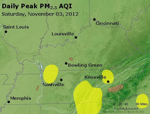 Peak Particles PM<sub>2.5</sub> (24-hour) - https://files.airnowtech.org/airnow/2012/20121103/peak_pm25_ky_tn.jpg