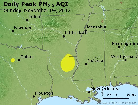 Peak Particles PM2.5 (24-hour) - https://files.airnowtech.org/airnow/2012/20121104/peak_pm25_ar_la_ms.jpg