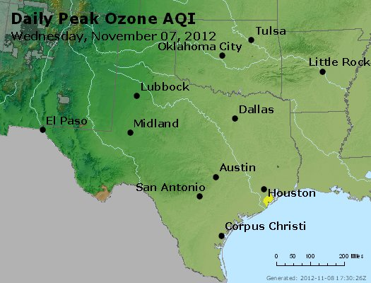 Peak Ozone (8-hour) - https://files.airnowtech.org/airnow/2012/20121107/peak_o3_tx_ok.jpg