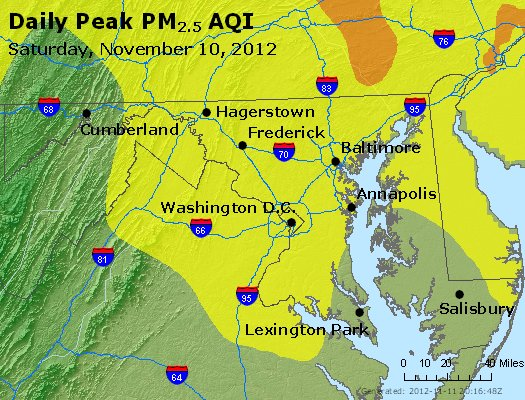 Peak Particles PM2.5 (24-hour) - https://files.airnowtech.org/airnow/2012/20121110/peak_pm25_maryland.jpg