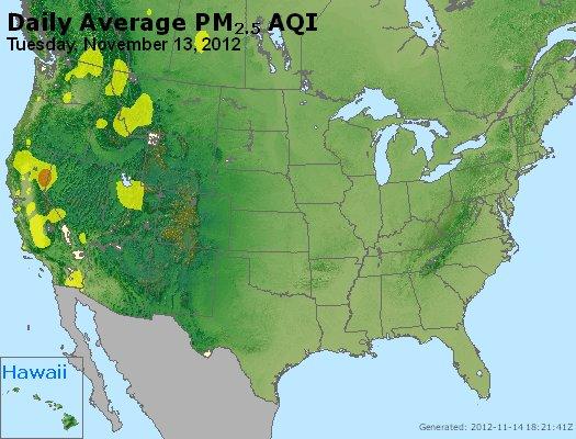 Peak Particles PM<sub>2.5</sub> (24-hour) - https://files.airnowtech.org/airnow/2012/20121113/peak_pm25_usa.jpg