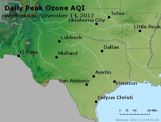 Peak Ozone (8-hour) - https://files.airnowtech.org/airnow/2012/20121114/peak_o3_tx_ok.jpg