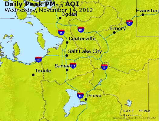 Peak Particles PM<sub>2.5</sub> (24-hour) - https://files.airnowtech.org/airnow/2012/20121114/peak_pm25_saltlakecity_ut.jpg