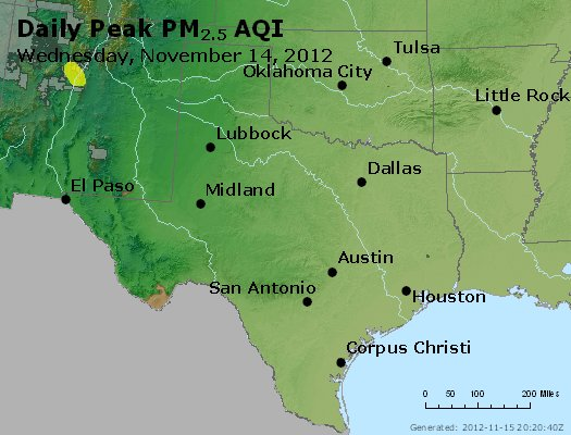 Peak Particles PM2.5 (24-hour) - https://files.airnowtech.org/airnow/2012/20121114/peak_pm25_tx_ok.jpg
