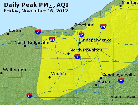 Peak Particles PM<sub>2.5</sub> (24-hour) - https://files.airnowtech.org/airnow/2012/20121116/peak_pm25_cleveland_oh.jpg