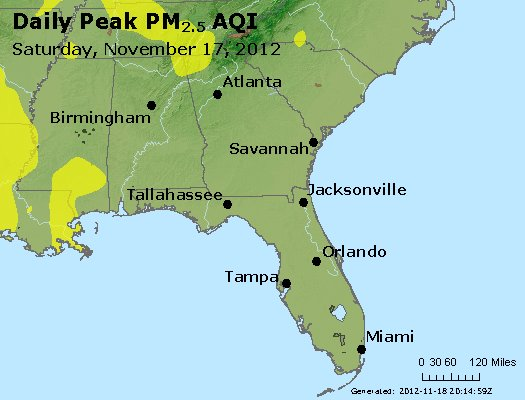 Peak Particles PM2.5 (24-hour) - https://files.airnowtech.org/airnow/2012/20121117/peak_pm25_al_ga_fl.jpg