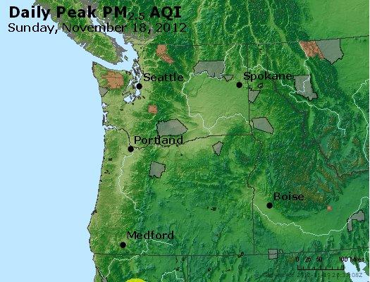 Peak Particles PM<sub>2.5</sub> (24-hour) - https://files.airnowtech.org/airnow/2012/20121118/peak_pm25_wa_or.jpg