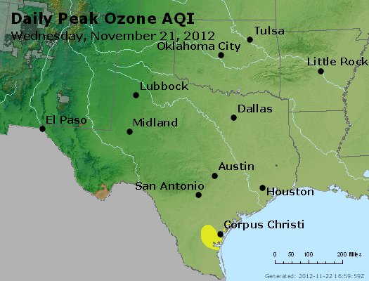 Peak Ozone (8-hour) - https://files.airnowtech.org/airnow/2012/20121121/peak_o3_tx_ok.jpg