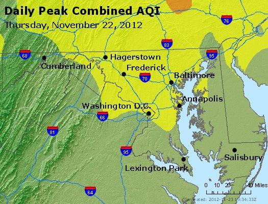 Peak AQI - https://files.airnowtech.org/airnow/2012/20121122/peak_aqi_maryland.jpg