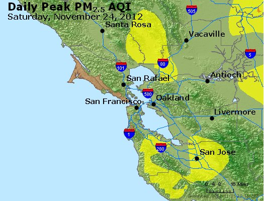 Peak Particles PM<sub>2.5</sub> (24-hour) - https://files.airnowtech.org/airnow/2012/20121124/peak_pm25_sanfrancisco_ca.jpg