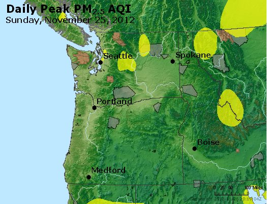 Peak Particles PM<sub>2.5</sub> (24-hour) - https://files.airnowtech.org/airnow/2012/20121125/peak_pm25_wa_or.jpg