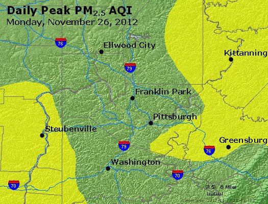 Peak Particles PM<sub>2.5</sub> (24-hour) - https://files.airnowtech.org/airnow/2012/20121126/peak_pm25_pittsburgh_pa.jpg