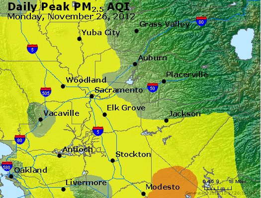 Peak Particles PM<sub>2.5</sub> (24-hour) - https://files.airnowtech.org/airnow/2012/20121126/peak_pm25_sacramento_ca.jpg