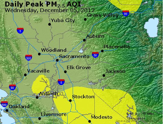 Peak Particles PM<sub>2.5</sub> (24-hour) - https://files.airnowtech.org/airnow/2012/20121205/peak_pm25_sacramento_ca.jpg