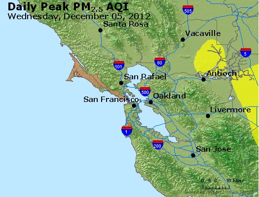 Peak Particles PM<sub>2.5</sub> (24-hour) - https://files.airnowtech.org/airnow/2012/20121205/peak_pm25_sanfrancisco_ca.jpg