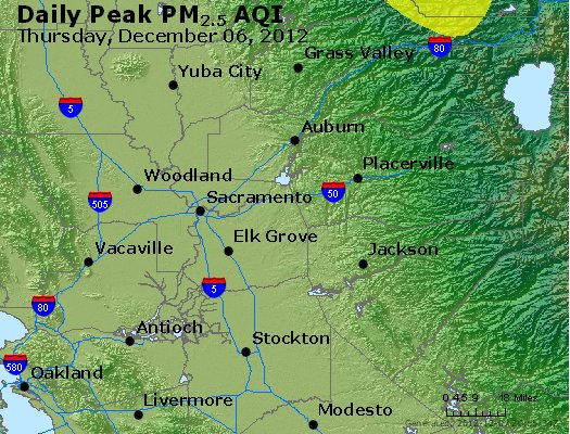 Peak Particles PM<sub>2.5</sub> (24-hour) - https://files.airnowtech.org/airnow/2012/20121206/peak_pm25_sacramento_ca.jpg