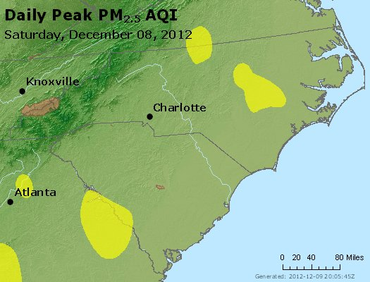 Peak Particles PM2.5 (24-hour) - https://files.airnowtech.org/airnow/2012/20121208/peak_pm25_nc_sc.jpg