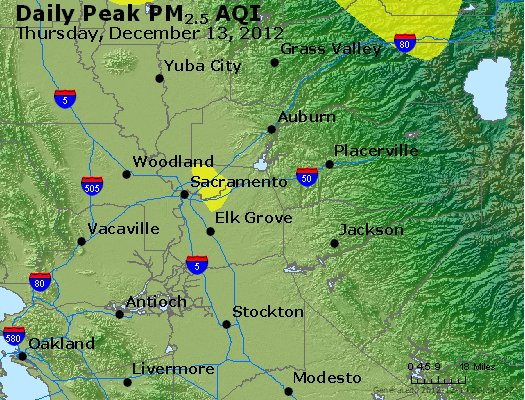 Peak Particles PM<sub>2.5</sub> (24-hour) - https://files.airnowtech.org/airnow/2012/20121213/peak_pm25_sacramento_ca.jpg