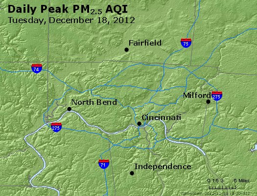 Peak Particles PM<sub>2.5</sub> (24-hour) - https://files.airnowtech.org/airnow/2012/20121218/peak_pm25_cincinnati_oh.jpg