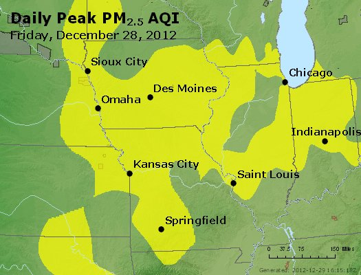 Peak Particles PM<sub>2.5</sub> (24-hour) - https://files.airnowtech.org/airnow/2012/20121228/peak_pm25_ia_il_mo.jpg