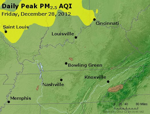 Peak Particles PM<sub>2.5</sub> (24-hour) - https://files.airnowtech.org/airnow/2012/20121228/peak_pm25_ky_tn.jpg