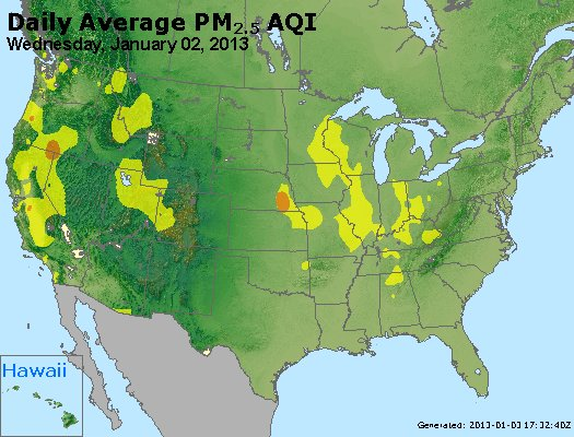 Peak Particles PM2.5 (24-hour) - https://files.airnowtech.org/airnow/2013/20130102/peak_pm25_usa.jpg