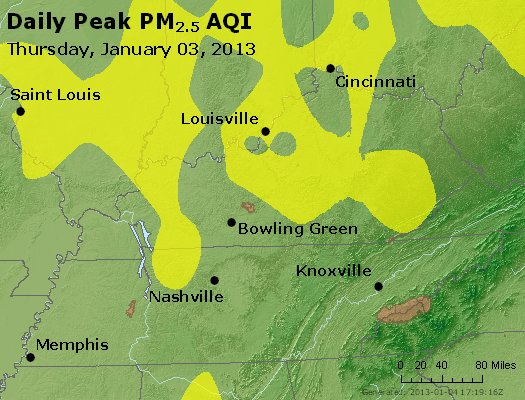 Peak Particles PM<sub>2.5</sub> (24-hour) - https://files.airnowtech.org/airnow/2013/20130103/peak_pm25_ky_tn.jpg