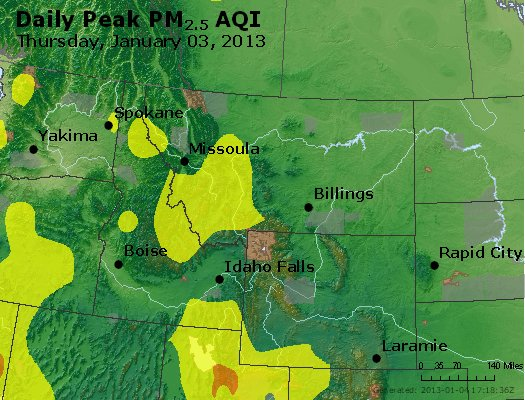 Peak Particles PM2.5 (24-hour) - https://files.airnowtech.org/airnow/2013/20130103/peak_pm25_mt_id_wy.jpg