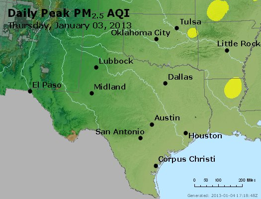 Peak Particles PM2.5 (24-hour) - https://files.airnowtech.org/airnow/2013/20130103/peak_pm25_tx_ok.jpg