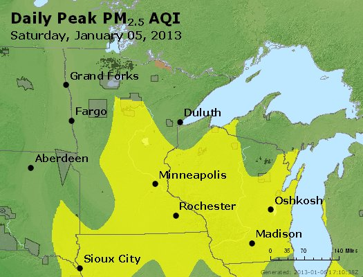 Peak Particles PM2.5 (24-hour) - https://files.airnowtech.org/airnow/2013/20130105/peak_pm25_mn_wi.jpg