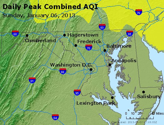 Peak AQI - https://files.airnowtech.org/airnow/2013/20130106/peak_aqi_maryland.jpg