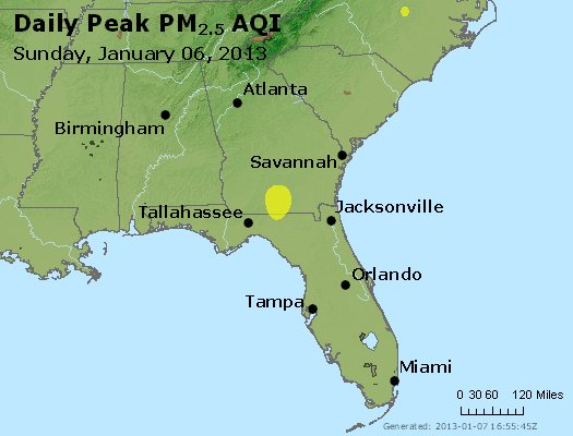 Peak Particles PM2.5 (24-hour) - https://files.airnowtech.org/airnow/2013/20130106/peak_pm25_al_ga_fl.jpg