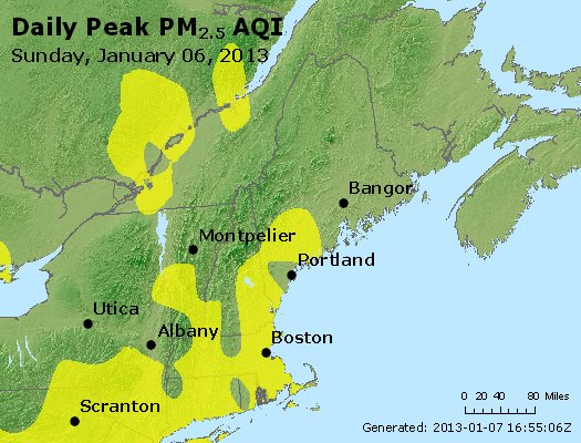 Peak Particles PM<sub>2.5</sub> (24-hour) - https://files.airnowtech.org/airnow/2013/20130106/peak_pm25_vt_nh_ma_ct_ri_me.jpg
