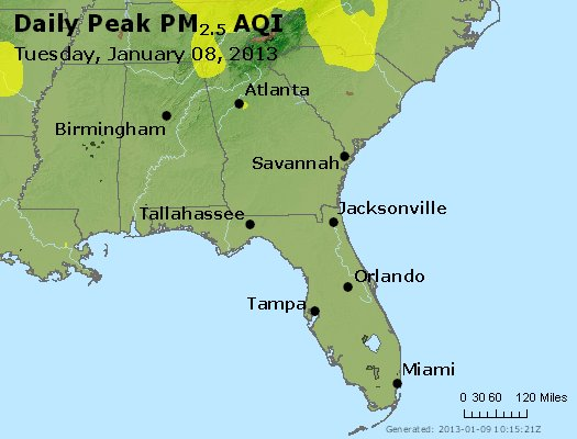 Peak Particles PM2.5 (24-hour) - https://files.airnowtech.org/airnow/2013/20130108/peak_pm25_al_ga_fl.jpg