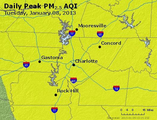 Peak Particles PM2.5 (24-hour) - https://files.airnowtech.org/airnow/2013/20130108/peak_pm25_charlotte_nc.jpg